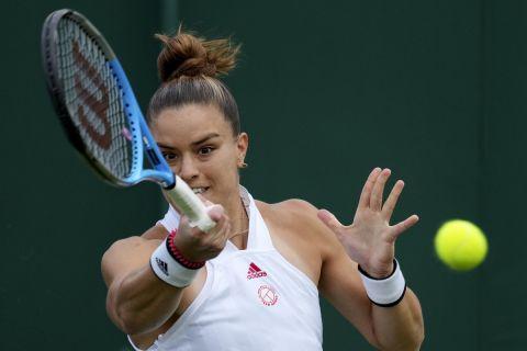 Η Μαρία Σάκκαρη κόντρα στην Αράντσα Ρους στο Wimbledon