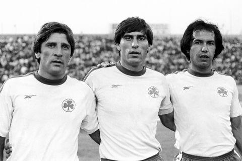 Με τον Κατσιάκο και τον Ρότσα στον Παναθηναϊκό το 1981