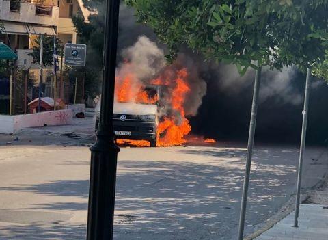 Πήγαν να τους κάψουν ζωντανούς: η μαρτυρία για τις μολότοφ στο βαν των οπαδών του ΠΑΟΚ