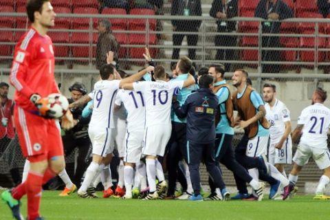 Τα γκολ στο Ελλάδα - Βοσνία