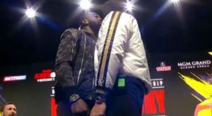 Wilder vs. Fury 2: Πέντε λεπτά προσβολές και επεισόδιο στο faceoff