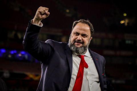 Ο ισχυρός άνδρας του Ολυμπιακού, Βαγγέλης Μαρινάκης