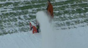 ΠΑΣ Γιάννινα – Πανιώνιος: «Πάλευαν» με τα χιόνια στους «Ζωσιμάδες» (VIDEO)