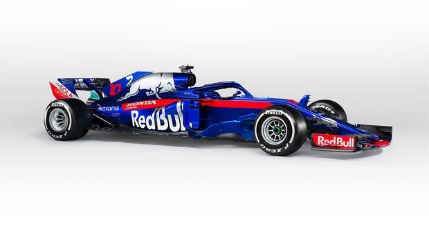 Αυτή είναι η νέα Red Bull Toro Rosso Honda