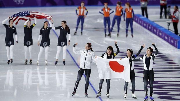 Χρυσό με Ολυμπιακό ρεκόρ για Ιαπωνία στο πατινάζ ταχύτητας