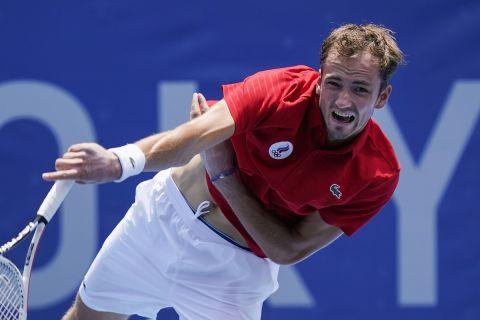 Ολυμπιακοί Αγώνες - Τένις: Συνεπής ο Μεντβέντεφ στο ραντεβού με τον Καρένιο-Μπούστα