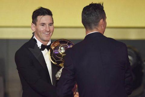 """Μέσι: """"Ο Κ. Ρονάλντο άξιζε τις Χρυσές Μπάλες που κατέκτησε"""""""