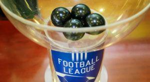 Football League: Η κλήρωση του πρωταθλήματος