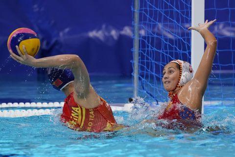 Η Ισπανία ήταν το φαβορί και το επιβεβαίωσε στη μάχη με την Κίνα για την πρόκριση στα ημιτελικά του ολυμπιακού τουρνουά πόλο των γυναικών