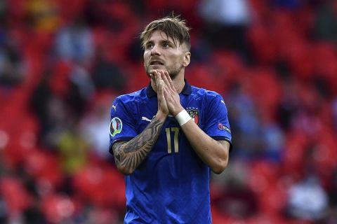Ο Τσίρο Ιμόμπιλε με την φανέλα της εθνικής Ιταλίας στο EURO 2020