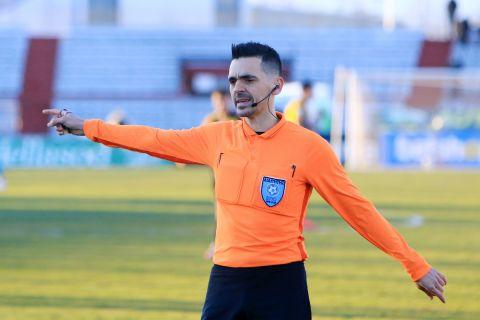Ο Γκορτσίλας σε ματς της Super League