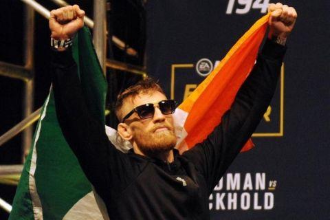 Απαγόρευσαν τον McGregor στην Ιρλανδία!