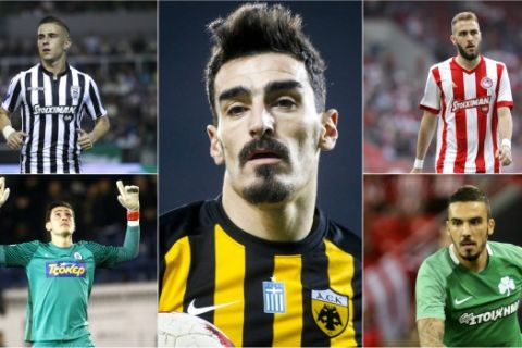 POLL: Ποιος ήταν ο καλύτερος Έλληνας ποδοσφαιριστής της Super League;