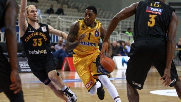 ΑΕΚ - Ρέθυμνο 84-83: Τσάλμερς - Τολιόπουλος έκριναν το θρίλερ