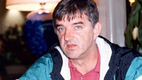 Ο Ντελίμπασιτς εν ώρα συνέντευξης στον Βασίλη Σκουντή