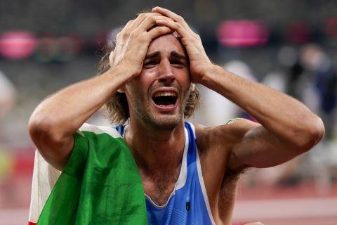 Ο Ταμπέρι στον τελικό του ύψους στους Ολυμπιακούς Αγώνες του Τόκιο