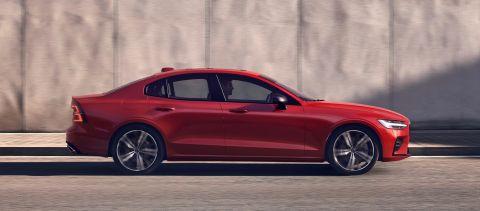 S60 R-Design, in Fusion Red metallic