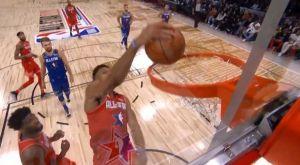 2020 NBA All-Star Game: Το άστοχο κάρφωμα του Γιάννη παραλίγο να σπάσει τη στεφάνη