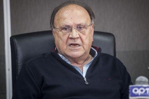 Ο πρόεδρος της ΚΟΕ, Δημήτρης Διαθεσόπουλος σε συνέντευξη Τύπου