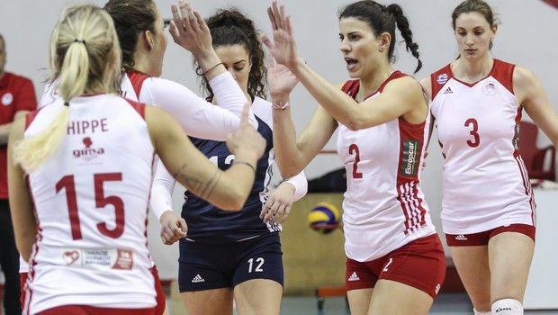Στον τελικό του Challenge Cup για δεύτερη σερί χρονιά ο Ολυμπιακός στις γυναίκες