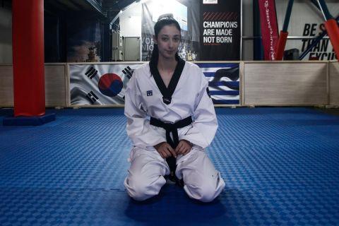 Η Φένια Τζέλη κατά την προετοιμασία της για τους Ολυμπιακούς Αγώνες 2020, Τόκιο | Δευτέρα 19 Ιουλίου 2021