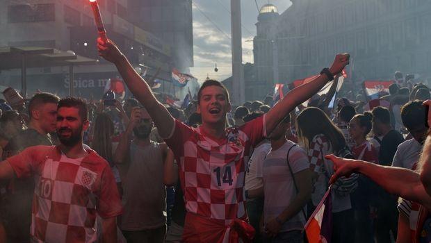 Χαμός στο Ζάγκρεμπ, αποθέωση για τη φιναλίστ του Παγκοσμίου Κυπέλλου (VIDEO)