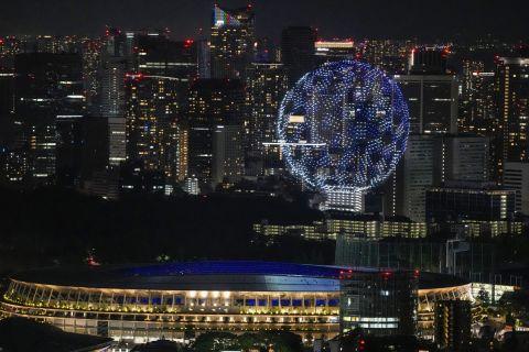 Η Τελετή Έναρξης των Αγώνων στο Τόκιο ήταν απλή, πλην ανθρωποκεντρική
