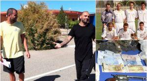 Ραούλ Μπράβο και Αράντα: Ναρκωτικά, όπλα, κλεμμένα αυτοκίνητα