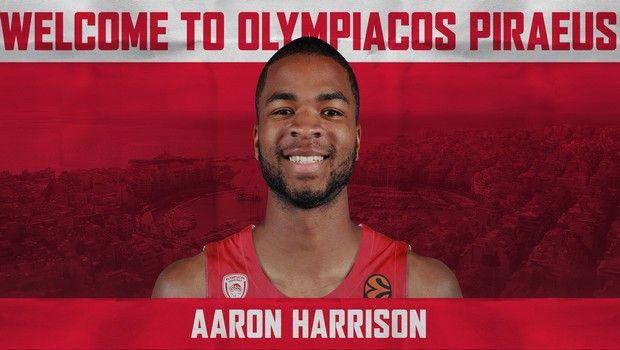 Ολυμπιακός: Επίσημη η διετής συμφωνία με τον Άαρον Χάρισον
