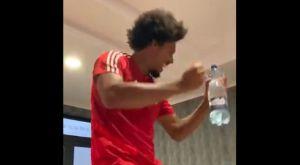 Ολυμπιακός: Ο Μπρούνο τραγούδησε και χόρεψε το «Ai Se Eu Te Pego»