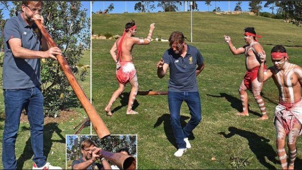 Χόρεψε με τους Αβοριγίνες στην Αυστραλία ο Κλοπ!
