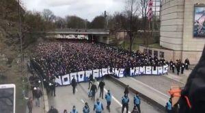 Αμβούργο: Πορεία 2.500 οπαδών προς το γήπεδο της Ζανκτ Πάουλι