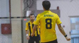 Stoiximan.gr Futsal: Πήρε το ντέρμπι η ΑΕΚ, 4-2 τον Παναθηναϊκό
