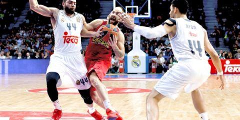 Σπανούλης VS Ρεάλ Μαδρίτης