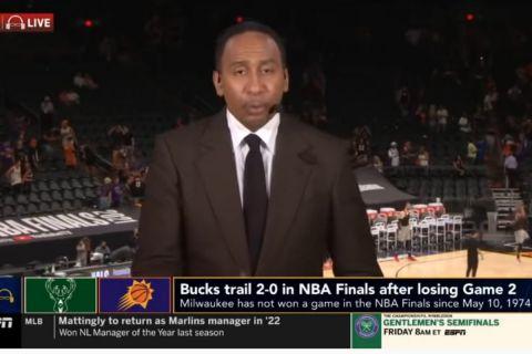 """NBA Finals, αποστολή στο Μιλγουόκι: Την """"έπεσαν"""" στον Στίβεν Έι Σμιθ έξω από το Fiserv Forum και εκείνος απάντησε"""