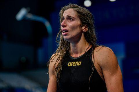Η Άννα Ντουντουνάκη δεν μπορεί να κρύψει την απογοήτευσή της για τον τρόπο που δεν προκρίθηκε στον τελικό των Ολυμπιακών Αγώνων