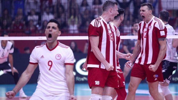 Volleyleague ανδρών: Επίδειξη ανωτερότητας από τον Ολυμπιακό