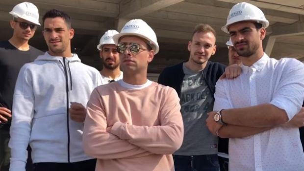 Η ξεχωριστή βόλτα των παικτών της ΑΕΚ στην Αγιά Σοφιά