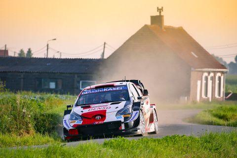 2021 FIA World Rally Championship / Round 08 / Rally Ypres Belgium / 15-18 July, 2021 // Worldwide Copyright: Toyota Gazoo Racing WRT