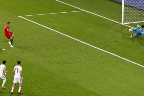 Ο Ρονάλντο έχασε ξανά πέναλτι για την Πορτογαλία (VIDEO)
