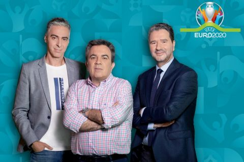 Οι παρουσιαστές της εκπομπής του EURO 2021 στον ΑΝΤ1