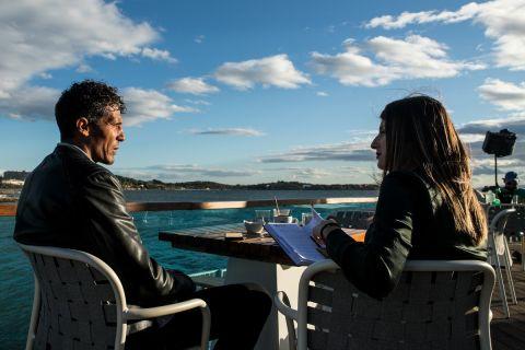 Ο Μπρούνο Άλβες με τη συντάκτρια του SPORT24, Μαρία Κουβέλη