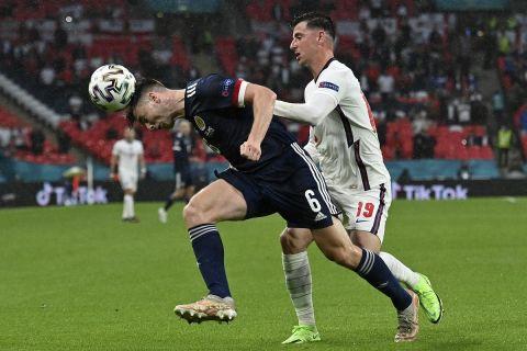 Μονομαχία Τίερνι - Μάουντ στο ματς της Αγγλίας με την Σκωτία για τα τελικά του Euro 2020
