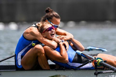 Ολυμπιακοί Αγώνες - Κωπηλασία: Άθλος για Μπούρμπου και Κυρίδου, προκρίθηκαν στον τελικό με ασύλληπτη κούρσα και παγκόσμιο ρεκόρ