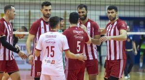 Volley League ανδρών: Συνέχισαν με νίκες Ολυμπιακός και Παναθηναϊκός