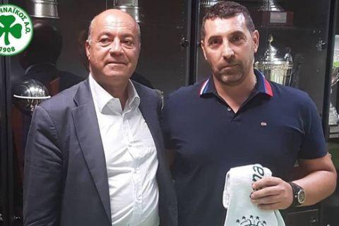 Στον πάγκο του Παναθηναϊκού ο Λαζαρίδης, επέστρεψε ως τιμ μάνατζερ ο Σελετόπουλος