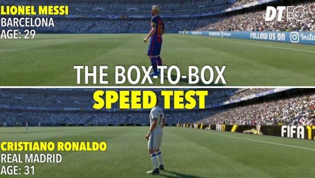 Mέσι vs Ρονάλντο: Ποιος είναι πιο γρήγορος στο FIFA 17;