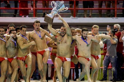 Ολυμπιακός - Βουλιαγμένη 12-9: Το πρωτάθλημα βάφτηκε ερυθρόλευκο για 9η συνεχόμενη σεζόν