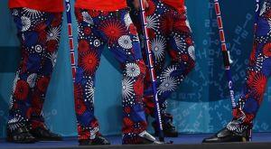 Τα παντελόνια της νορβηγικής ομάδας curling γράφουν ιστορία!