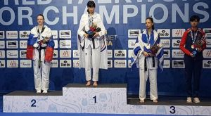 Ολυμπιακοί Αγώνες Νέων: Χάλκινη η Τζέλη στα 55κ. του τάε κβον ντο